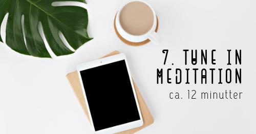 tune in meditation